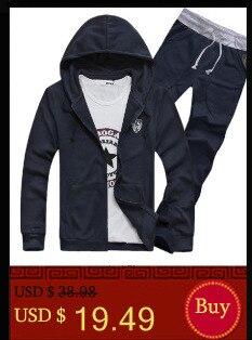 4ba92eede9a9c Wiosna Jesień Zestaw mężczyzn Mężczyzna Odzież Garnitury Mężczyzn Bluzy  Długi Rękaw Dorywczo Sweter Z Kapturem i Spodnie odzież Sportowa dla  Mężczyzn