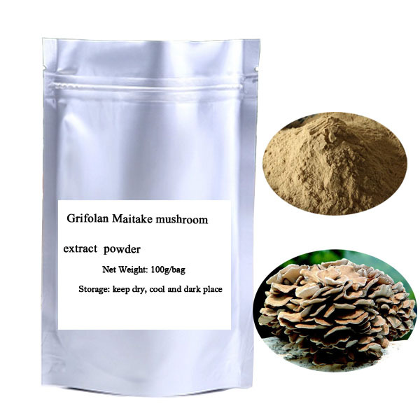 Free shipping Public  grifolan Maitake mushroom extract Instant including polysaccharide 30%  powder 100g/bag