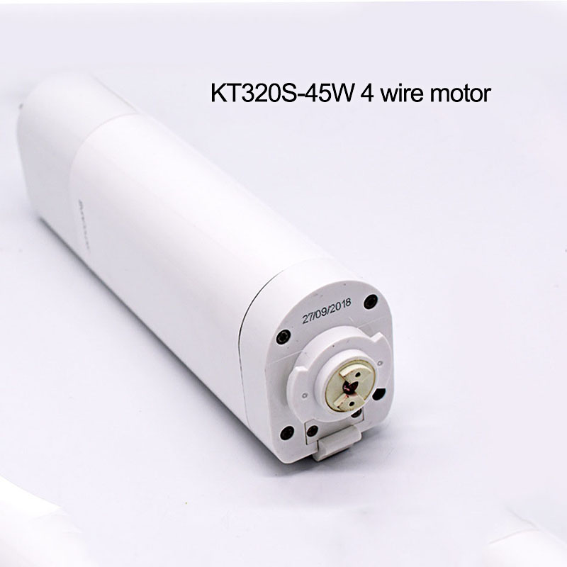 Dooya Sunflower KT320S 45w Electric Curtain Motor,4 Wire Strong Power Engineering Motor For Open Close Window Curtain Track