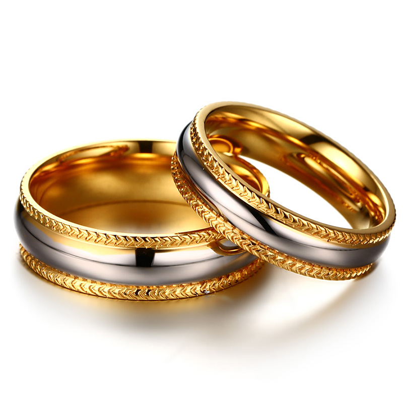 gold rings meteorite matching set jewelry products band wedding yg yellow