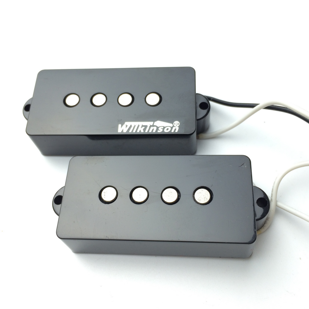 Han pickup PB double open electric bass pickup bass pickup WPB belcat bass pickup 5 string humbucker double coil pickup guitar parts accessories black