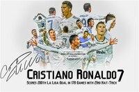 Cristiano Ronaldo Poster Football Figure Posters Ronaldo Wall Sticker CR7 Wallpaper World Cup Stickers Soccer Canvas