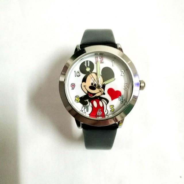 Quartz causale capretti della vigilanza Del Fumetto 3D bambini ragazze Minnie Mouse ciao kitty style ragazzi Colori quadrante studenti regalo orologi da polso