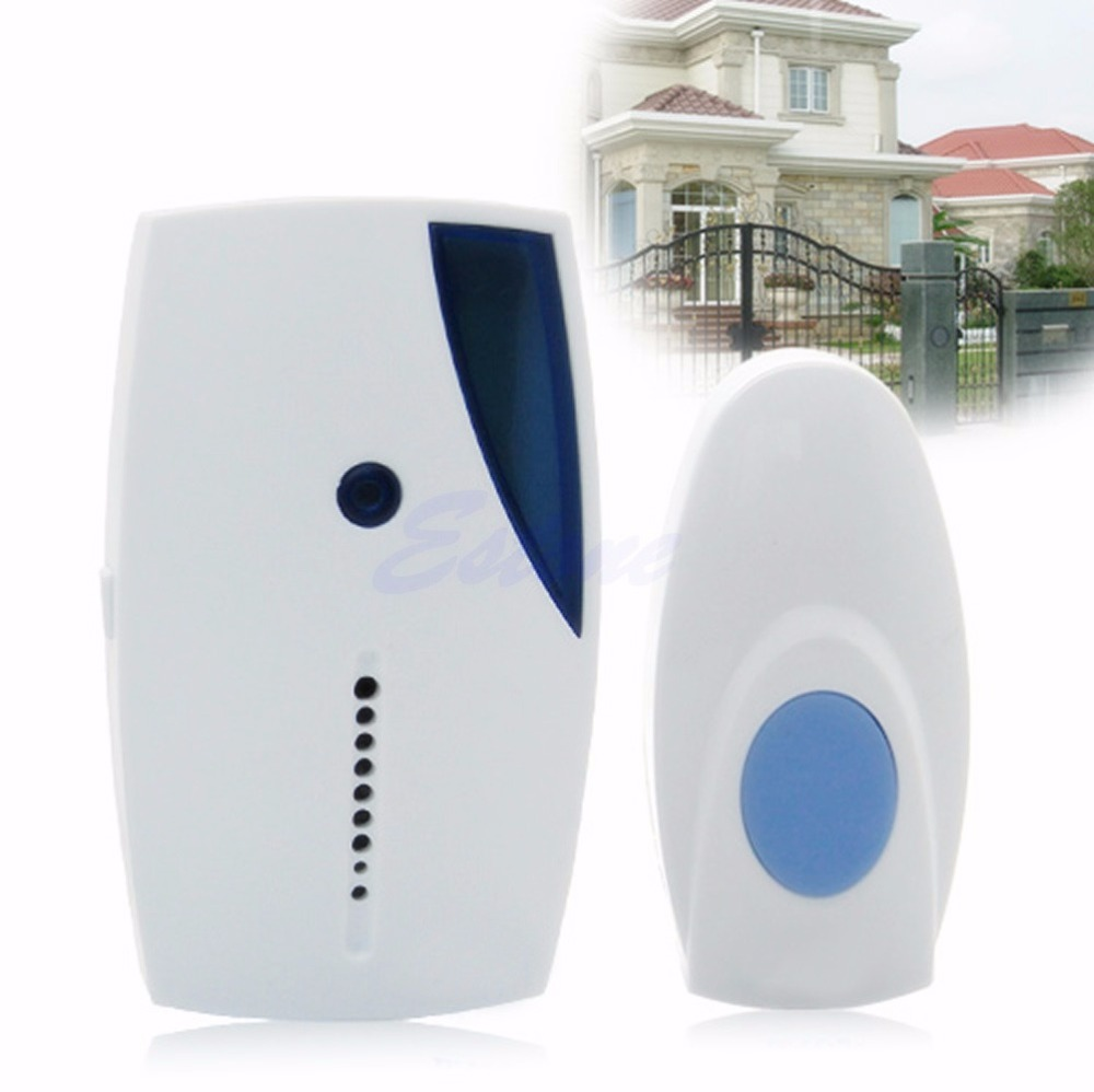 36 Music Chimes Songs Wireless Doorbell Remote Control Receiver Door Bell Button sensky us plug 52 music wireless remote control door chimes 300m distance 1 door bell 1 remote control 0c1