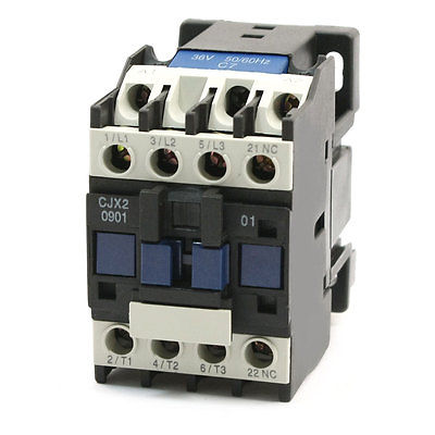36V Coil Motor Control 3P+1NC AC Contactor 20A 690V CJX2-0901 Type best quality ac contactor cjx2 150 150a 3p used for ac motor