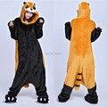 Костюм животных енот Onesie ( тапочки не входит ) для взрослых женщин мужская пижамы хэллоуин рождество ну вечеринку косплей костюмы