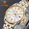 Ouyawei marca de relojes de lujo reloj mecánico de los hombres de negocios de pulsera relojes automáticos hombres reloj relogio masculino reloj hombre