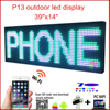 P16 256mm 128mm Semi Outdoor LED Display Module In Tri Color LED Display Double Color Sign