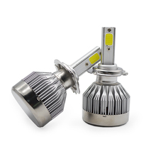 DUU Car LED Headlight Bulbs H7 H4 H8 H11 HB3 9005 HB4 9006 H1 H3 9012 H13 9007 C1 Auto Headlamp Fog Light COB Chip 12-24V 60W autoshine 9005 9006 hb3 hb4 led headlight car light source replacement 60w 7200lm auto headlight headlamp fog lamp drl with fan