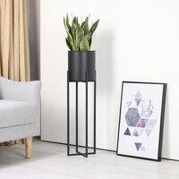 Новый модный домашний декоративный Пергола современный пол металлический цветочный горшок с железной стойкой держатель для суккулентов т