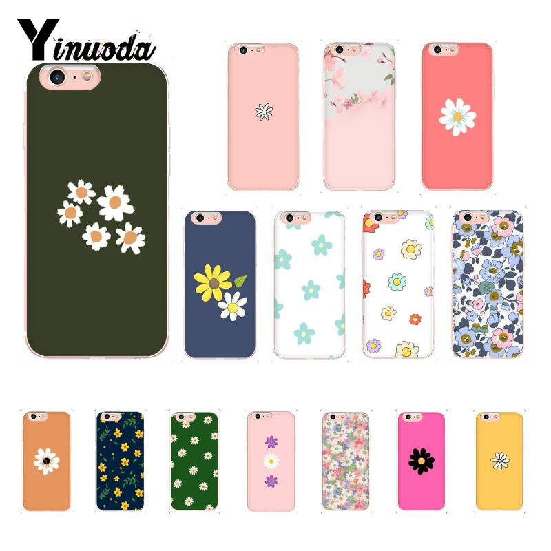 Yinuoda nature flowers spring cute floral aesthetic <font><b>PhoneCase</b></font> for iPhone6S 6plus 7 <font><b>7plus</b></font> 8 8Plus X XsMAX 5S XR 11 11pro 11promax image