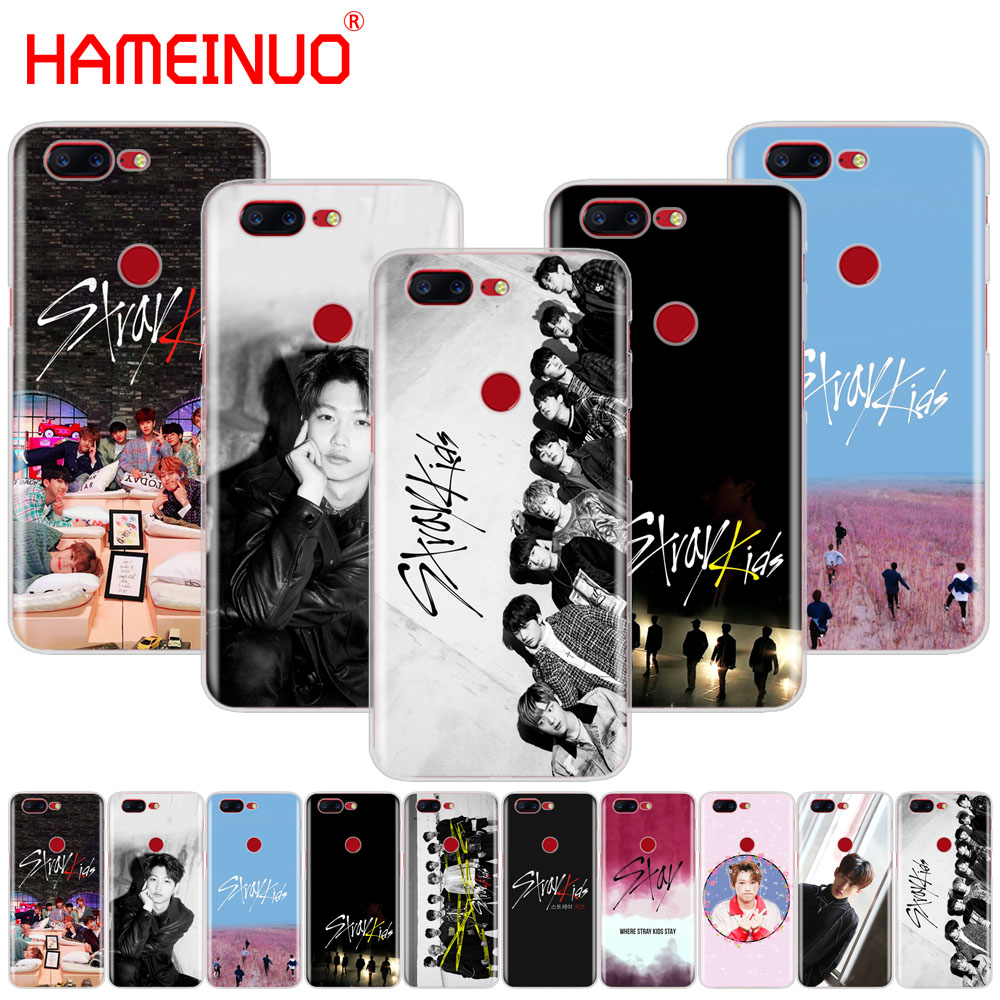 HAMEINUO Stray Kids K Pop cover phone case for <font><b>Oneplus</b></font> one plus 6 5T <font><b>5</b></font> 3 3t 2 X A3000 <font><b>A5000</b></font> image