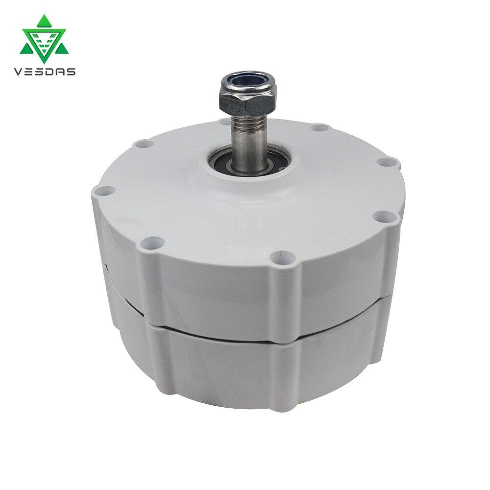 Vasdas 650r/m 12v or 24v or 48V Permanent Magnet AC Alternator 500W Wind Turbine Generator