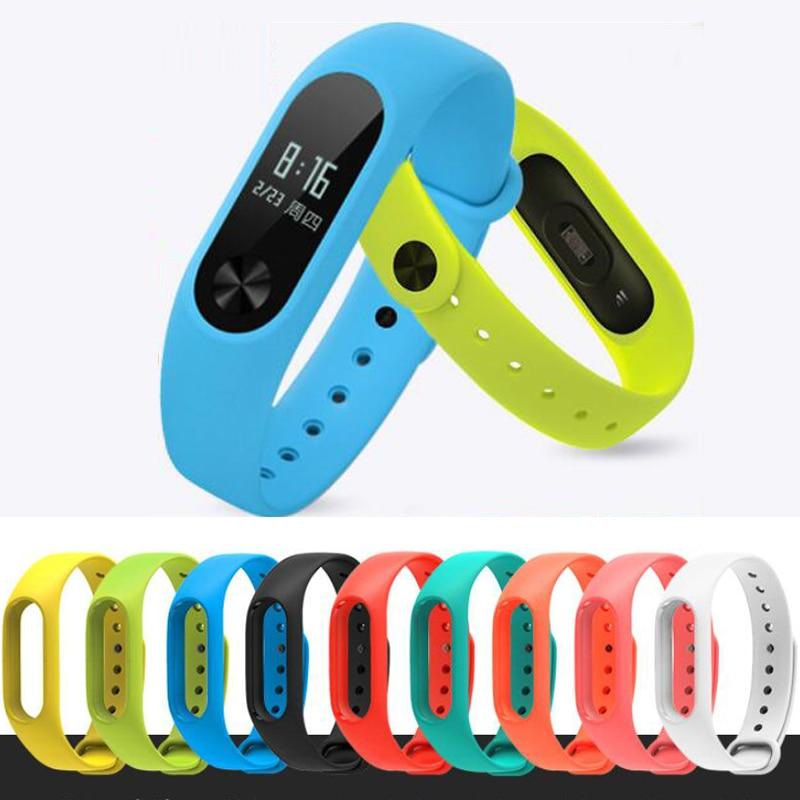 Beliebte Marke 1 Stücke Xiaomi Mi Band 2 Handschlaufe Band Silikon Bunte Armband Für Mi Band 2 Smart Armband Für Xiaomi Band 2 Zubehör Entlastung Von Hitze Und Sonnenstich Tragbare Geräte Cleveres Zubehör