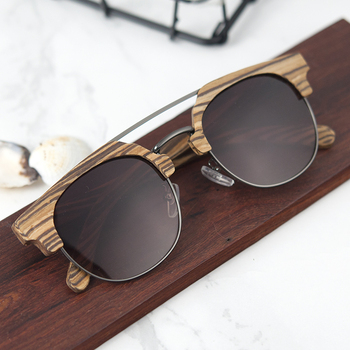 BOBO BIRD Women Sunglasses Wooden Eyewear