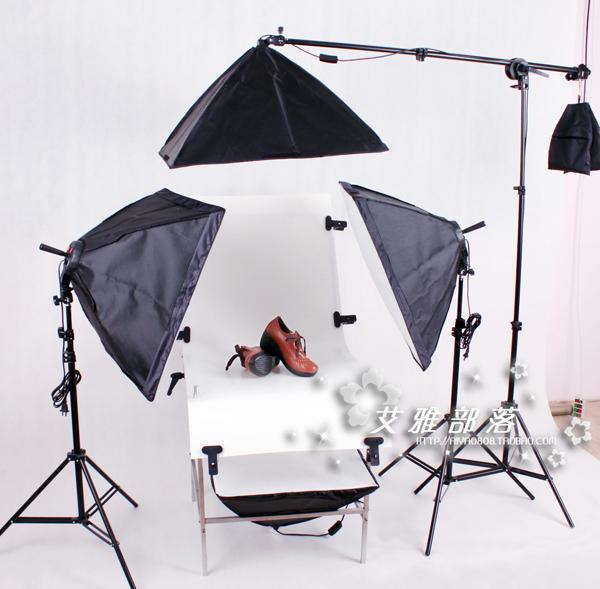 Photographic equipment lamp holder photography light shooting station lamp dome light combination softbox CD50 godox 300w flash lamp photography light studier set shooting station set softbox photographic equipment set