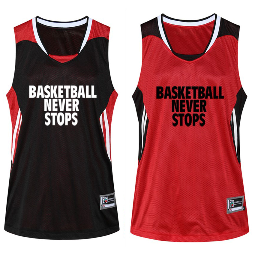 aliexpress   buy men s basketball jersey reversible