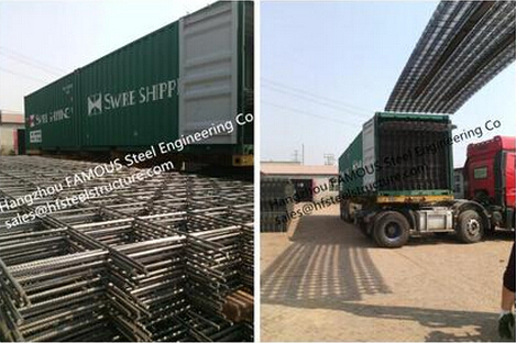 Concrete Reinforcement Wire Mesh And Concrete Reinforcing Mesh Made By Steel Rebars 4.6*1.98m AS Standard