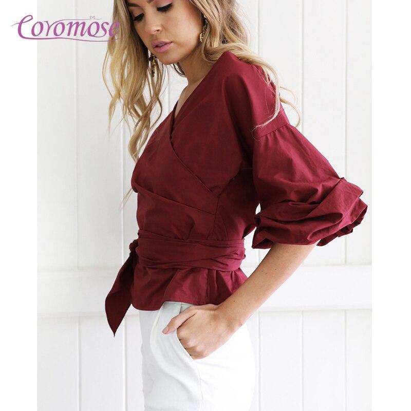 d2f6215e935a2b Wrap shirts blouses