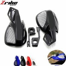 2 pcs bike handguards hand guards protectors fit motorbike motocross universal plastic 22mm for KTM 50 SX MINI 50 SX 690 ENDURO цена