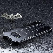 Batman Aluminium Metal Shockproof Cover Case Voor Samsung Galaxy S20 Plus S8 S9 S10 5G S10E Note 10 Plus note 20 Ulrta Case