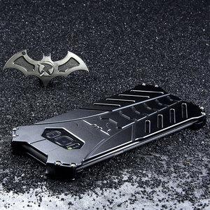 Image 1 - Batman Aluminum Metal Shockproof Cover Case for Samsung Galaxy S20 Plus S8 S9 S10 5G S10E Note 10 Plus note 20 ulrta case
