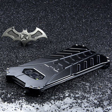 Batman metal de alumínio à prova de choque capa para samsung galaxy s20 plus s8 s9 s10 5g s10e nota 10 mais nota 20 ulrta caso