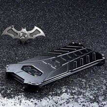 배트맨 알루미늄 금속 충격 방지 커버 케이스 삼성 갤럭시 S20 플러스 S8 S9 S10 5G S10E 참고 10 플러스 참고 20 ulrta 케이스