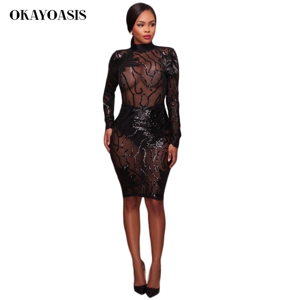 Mesh patchwork sleeve bodycon dresses long lanka