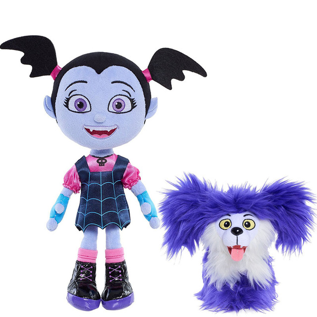 Purple Vampirina Bat e Dog Vamp The Girl Peluche cT1lKJF3