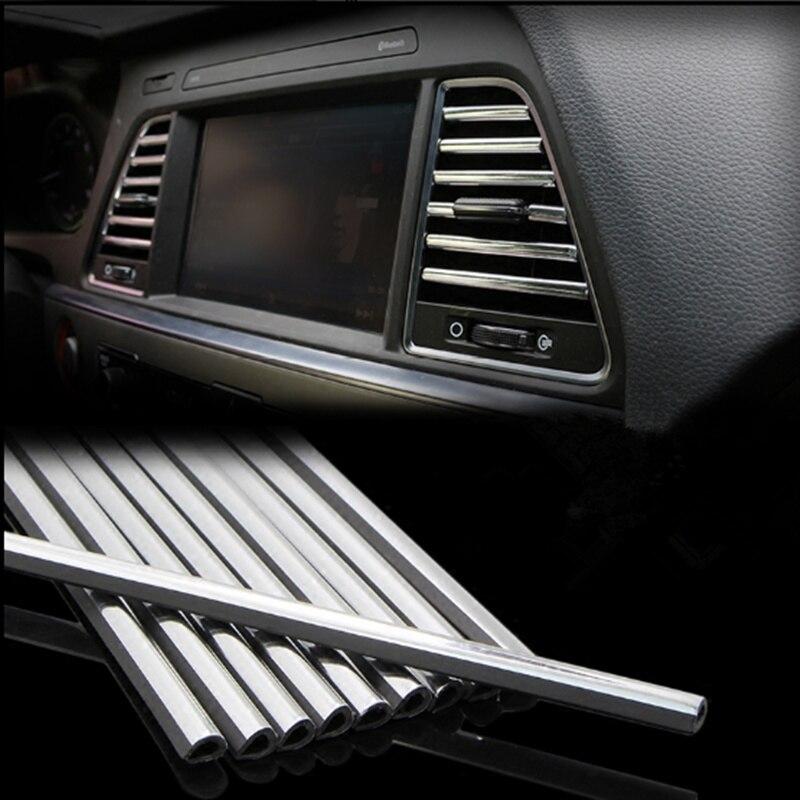 Car Styling Newest U Shape Diy Air Vent Grille Decoration Strip For Mazda 2 3 5 6 Cx-3 Cx-4 Cx-5 Cx5 Cx-7 Cx-9 Atenza Axela