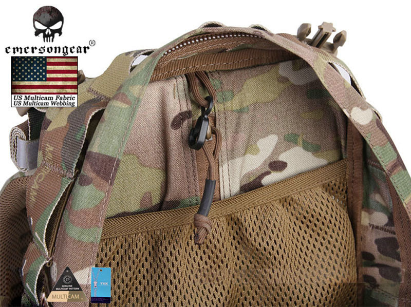 Tactical Emerson Yote Hydration Assault Pack Army Bag Multicam 500D EM5813