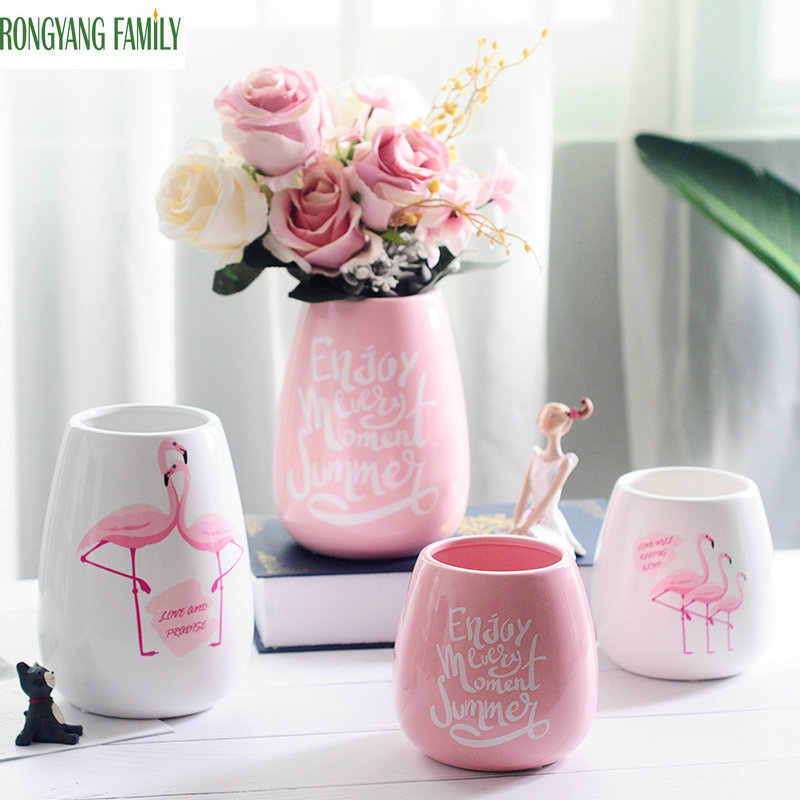 Classic Nordic Ceramic Vase Chinese Arts And Crafts Decor