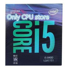 Free shipping Intel Core i5 8 series Processor I5 8400 I5-8400 Boxed processor CPU LGA 1151-land FC-LGA 14 nanometers Six Core