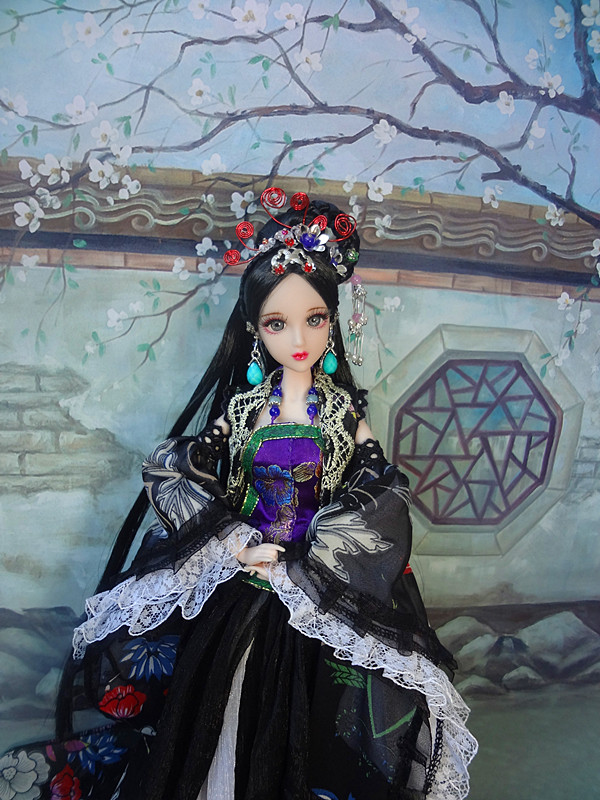 Handmade Ancient Chinese Dolls 1/6 Bjd Jointed Doll Empress Zhao Feiyan Dolls Girl Toys Birthday Gifts pure handmade chinese ancient costume doll clothes for 29cm kurhn doll or ob27 bjd 1 6 body doll girl toys dolls accessories