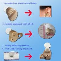 бесплатная доставка мини тип невидимым ITE является усилитель слуха горячий продавать лучшее профессиональное звуковое спид ухо уход небольших машина ДХ-906