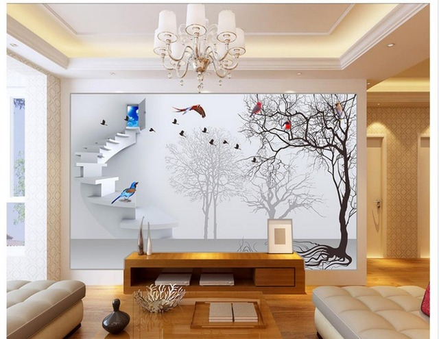 3d Papier Peint Pour Chambre Decoration De La Maison Papier Peint