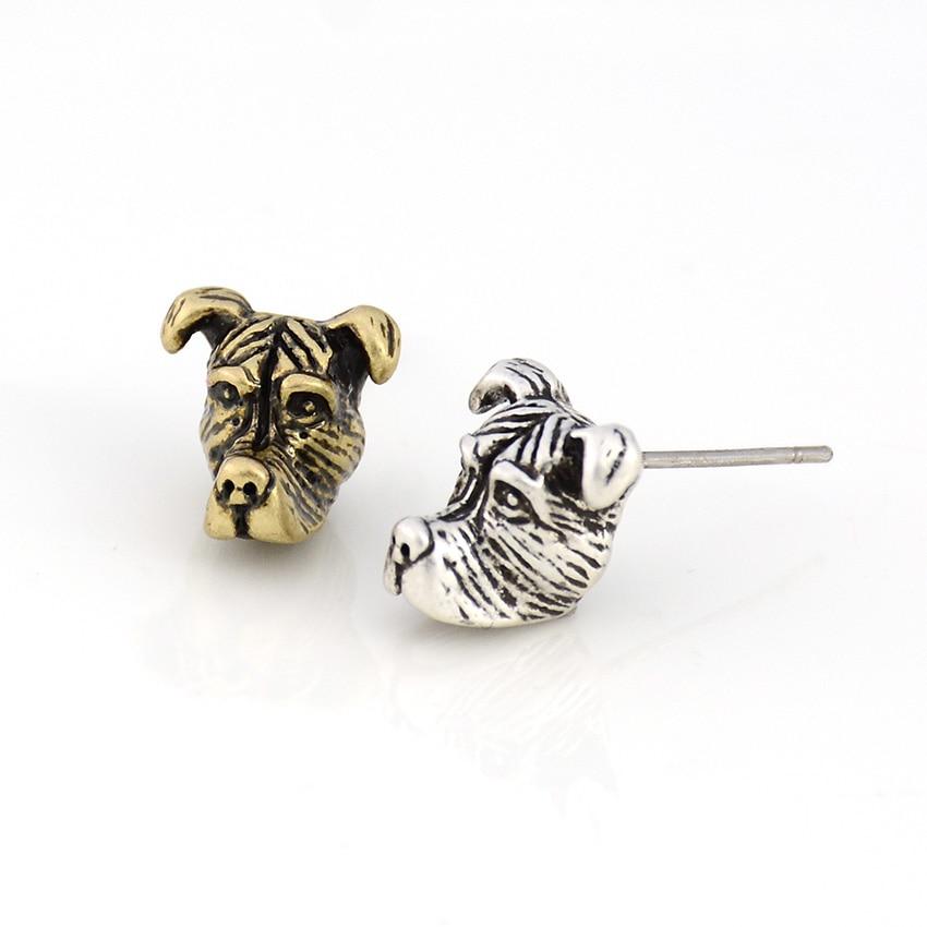 Floppy Ears Staffordshire&Pit Bull Terrier Dog Earring Dogs Brincos Love Earrings For Women Jewelry Black Friday Christmas Gift