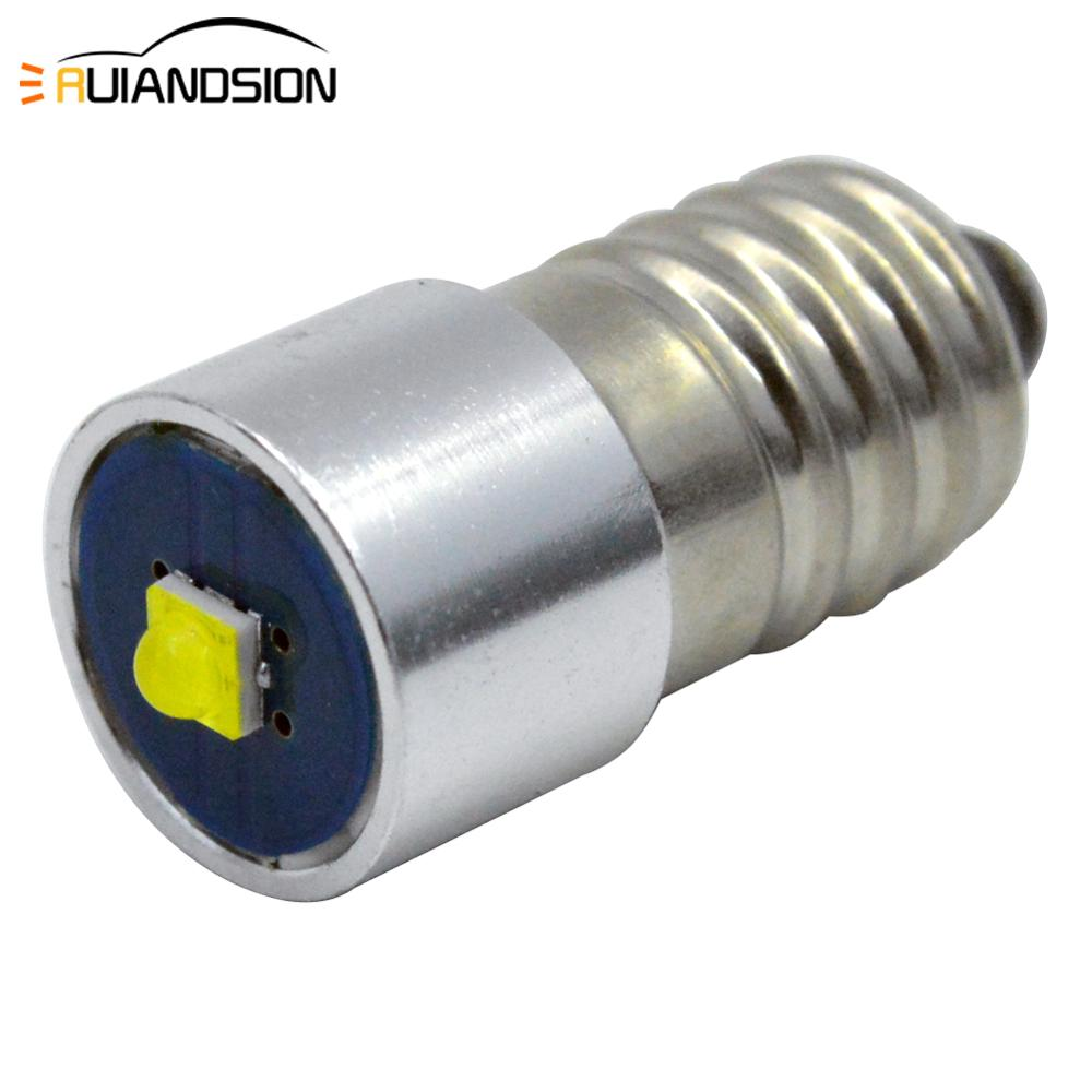 1x E10 <font><b>P13.5S</b></font> <font><b>3w</b></font> 3V 4.5V 6-24V Replacement Bulb Led Conversion Kit for C/D Flashlights Torch Power LED Upgrade Bulb for Maglite image