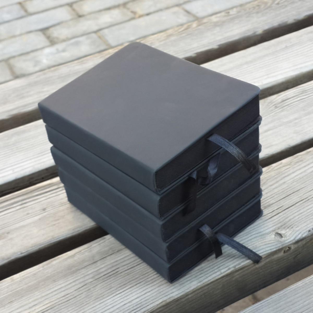 2019 a5 / a6 pu غطاء القرطاسية ورقة المفكرة diy فارغة الأسود يوميات الإبداعية لطيف كتابات دفتر مذكرة كتاب ورقة رسم كتاب