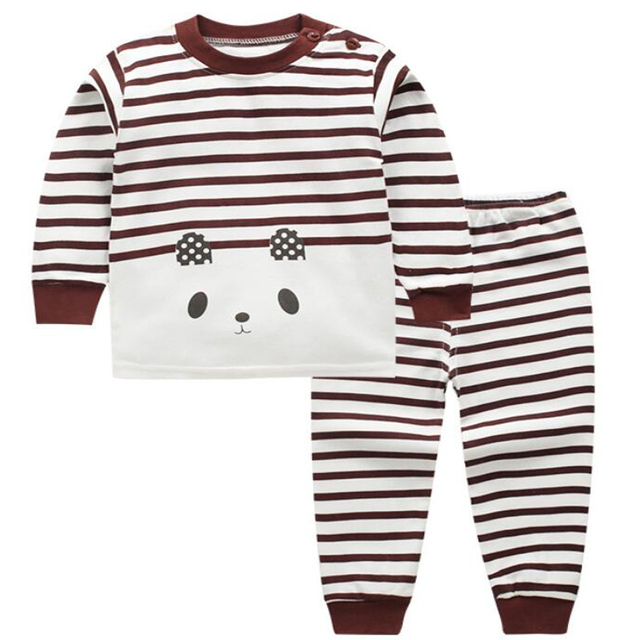 pyjama baby boy sleeping clothes for boys clothing set kids suits 1 3 2  years boy 1ed2dad2d