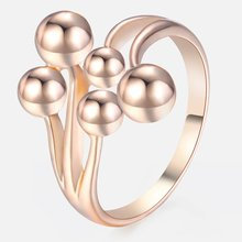 Trendsmax Vine Balls Rings for Women 585 Rose Gold Wedding Rings Engagement Ring Fashion Jewelry Gift for Women Girls GR40(Hong Kong,China)