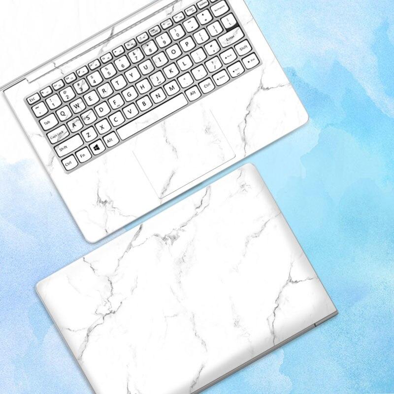 10 pcs/lot autocollant pour ordinateur portable autocollant de peau pour Macbook Air Microsoft Dell HP ASUS Lenovo Samsung ABC côtés autocollant de couverture complète - 5