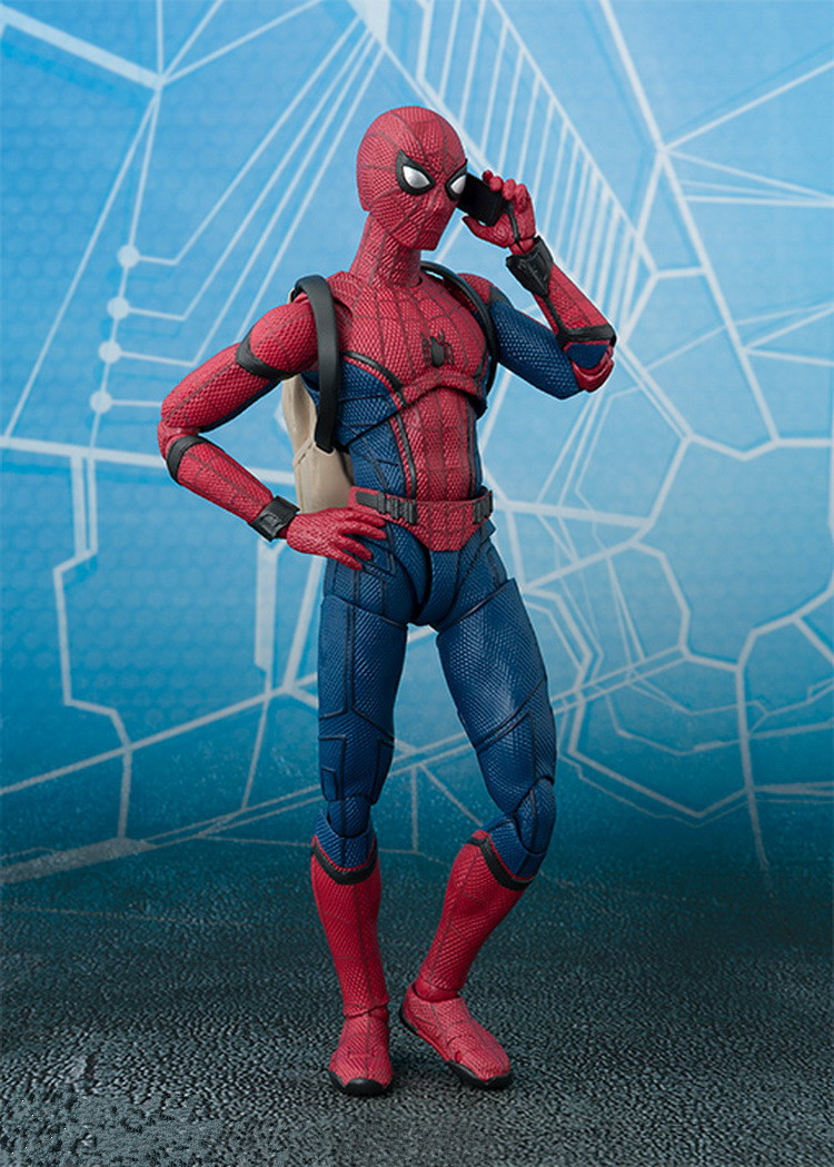 Spider-Man Homecoming Variant Action Figure 1/8 scale painted figure Variable Spider-Man Doll PVC figure Toy Brinquedos Anime 10cm spider man japanese anime lovely swing doll cute black panther mobile phone holder shaking head action