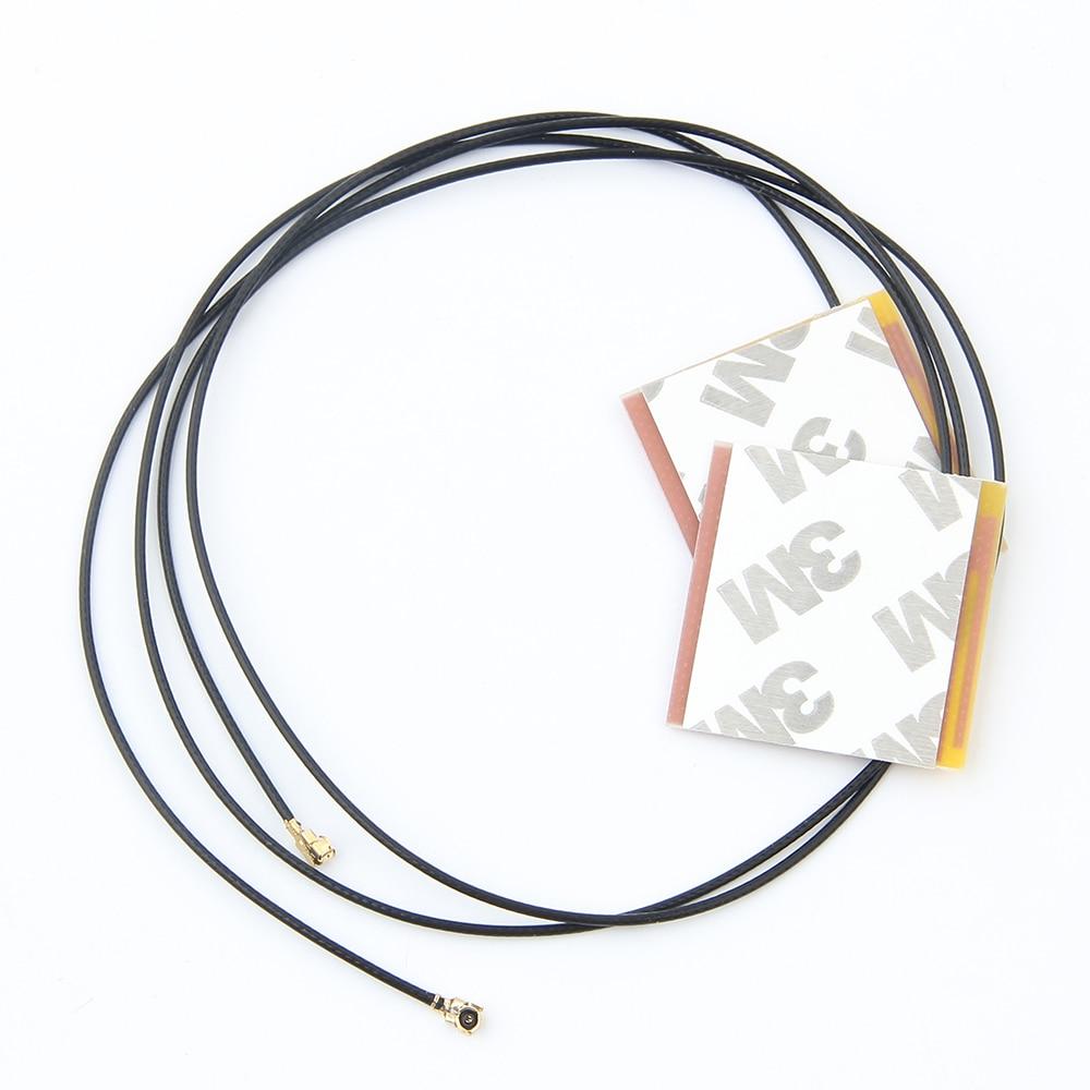 New 1 Pair Laptop Internal Wireless Antenna WiFi For Intel 6230 3160AC 7260HMW MINI PCI-E U.FL Wireless LAN Adapter Wifi Antenna