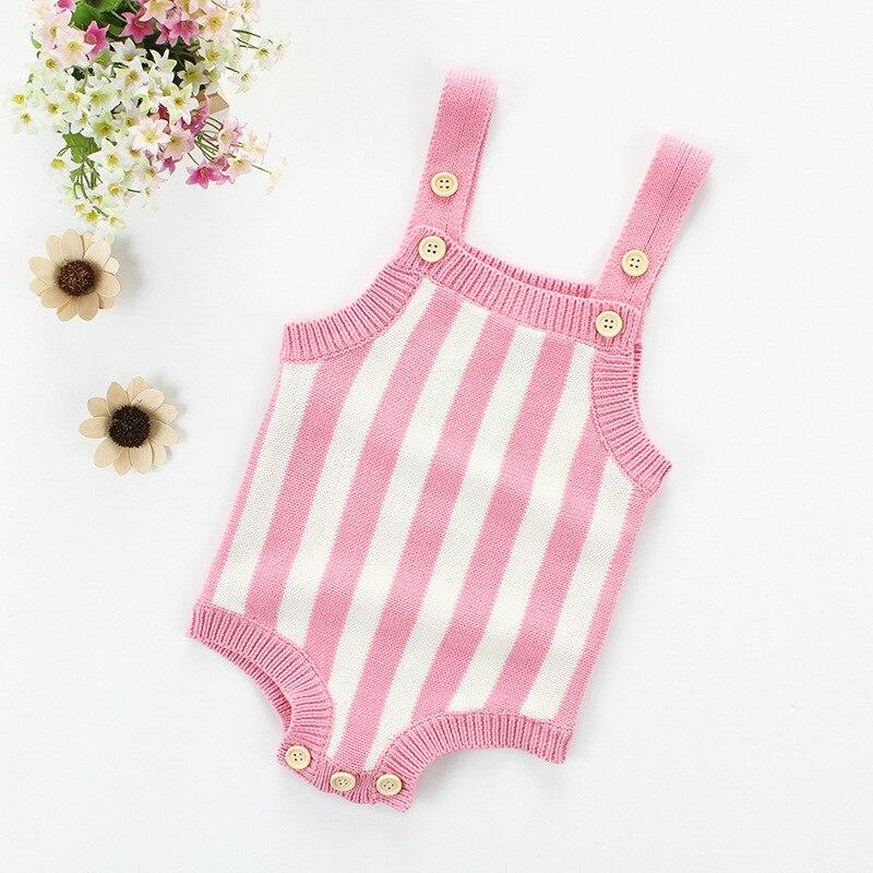 Pasgeboren Baby Gebreide Romper Jongens Meisjes Babykleding Lente - Babykleding - Foto 3