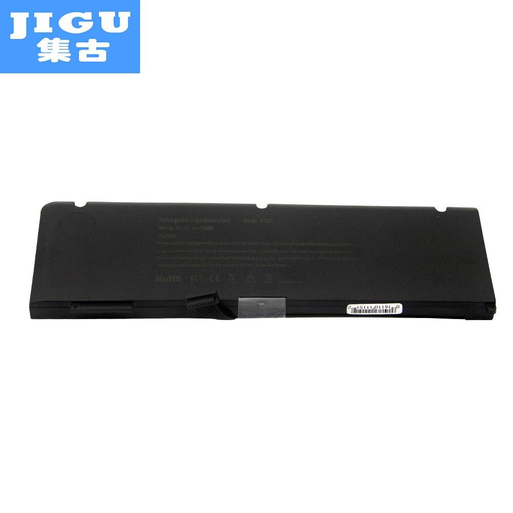 JIGU Black Laptop battery For Apple A1321 MacBook Pro 15 A1286 MB985 MB986 MC026 MC118 MC371