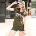 Fashion Shorts Women Casual Pocket Jeans Shorts Summer Girls Mini Military Sequined Decoration Shorts Female Gk-9501A