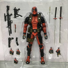 20 cm ÉPICO Ultimate Marvel Deadpool Super Poseable Action Figure Toy Collectible Presente de Natal Da Boneca(China)