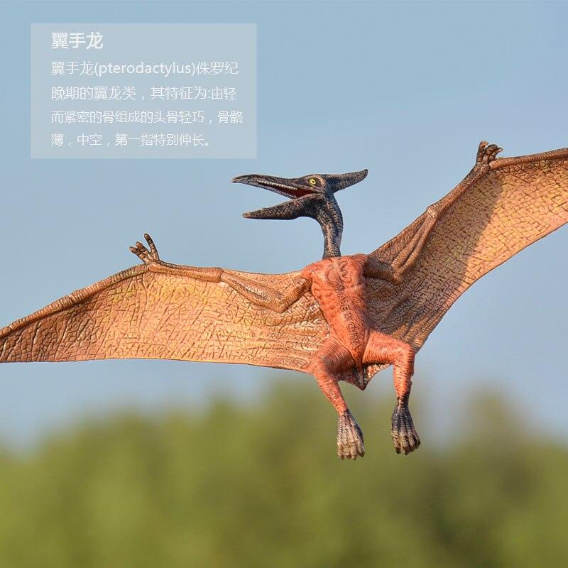 Oenux Динозавров Юрского периода новые Дизайн птеранодон pterosauria динозавров модель фигурку коллекция Развивающие игрушки для мальчика подаро...